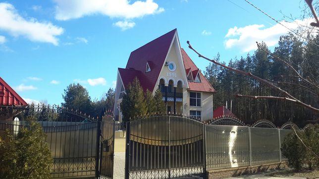 Продается шикарный, газ дом, Диброво.В лесу. Земли-55соток.