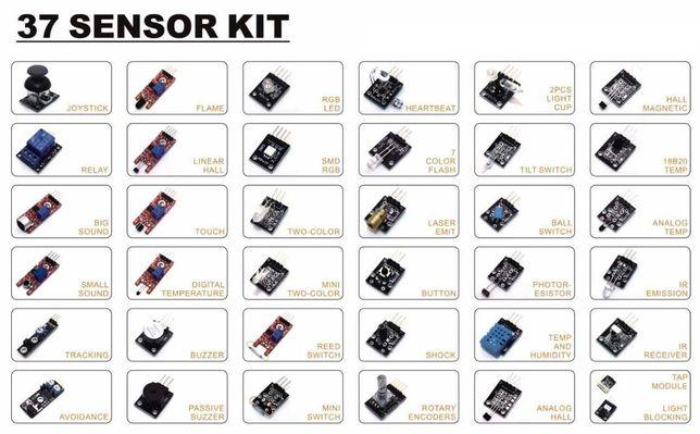 Kit de 37 sensores compatíveis com Arduino e Raspberry Pi