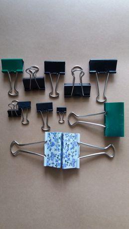 Зажимы биндеры для пакетов с сыпучими продуктами, бумаги