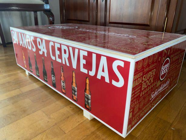Caixa madeira Super Bock
