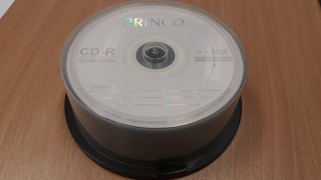 Pack com 28 CD-R (PRINCO)