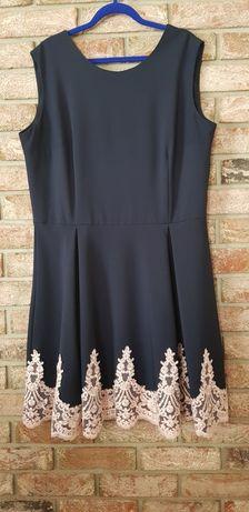Sukienka elegancka, wizytowa (ok. 46)