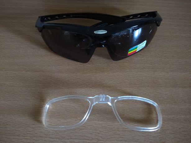 Óculos desportivos NOVOS com possibilidade para graduar