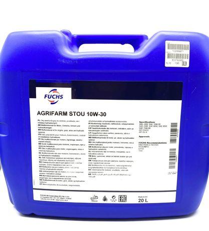 Olej półsyntetyczny Fuchs AGRIFARM STOU MC 20 l 10W-30  4,88
