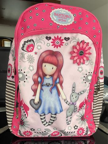 mochila escolar da marca Gorjuss