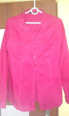 Malinowa, różowa koszula Reserved 44