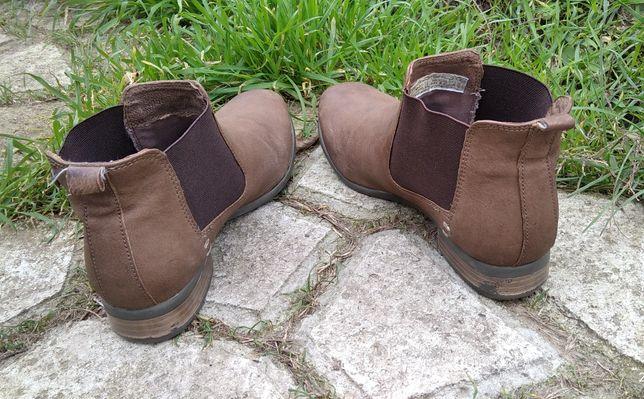 Ботинки челси Oliver 36,5-37 24 кожаные натуральная кожа демисезонные