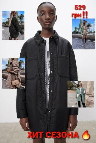 Куртка‐рубашка.Куртка чёрная.Куртка оливковая.Куртка демисезонная.