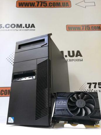 Игровой компьютер Lenovo, Intel Core i5, GTX 1050Ti, 8GB RAM, SSD+HDD