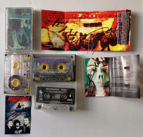 proletaryat 4 kasety magnetofonowe autografy koszt z przesyłką
