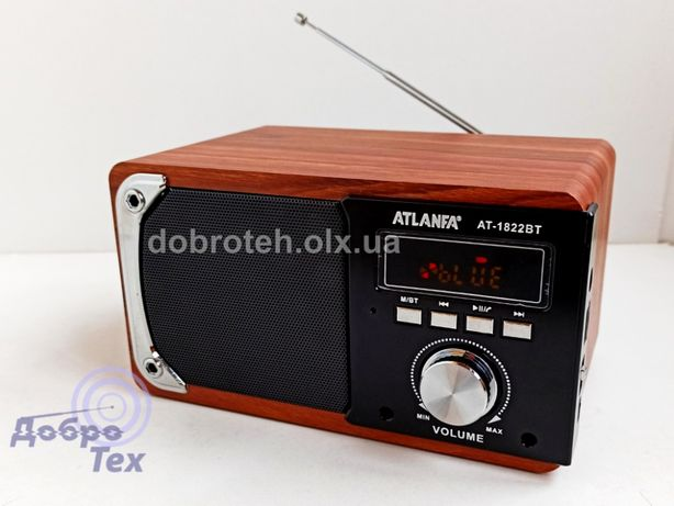 НОВЫЕ! ATLANFA AT-1822BT блютус колонка, MP3 плеер, FM Радио