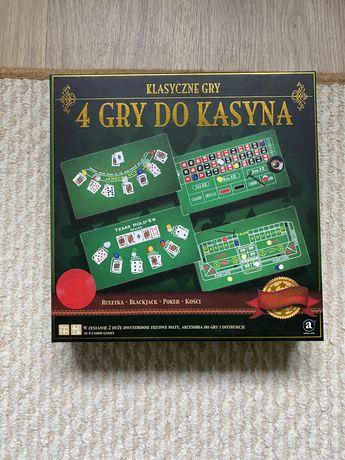 Zestaw 4 klasycznych gier do kasyna