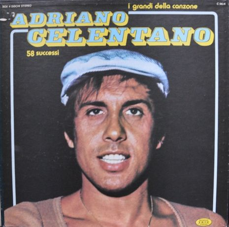 Продам Box 4 dischi Adriano Celentano- I grandi della canzone