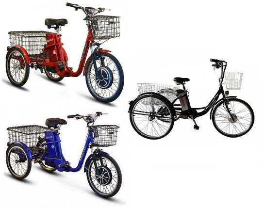 Трехколесный электровелосипед Skybike Kelbbike 48V Li ion 10400Ah