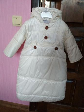 Комбинезон куртка конверт новая без бирок осень весна