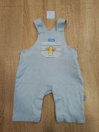 Ubranka dla chłopca,r.0-3m-ce i 62/68,4szt ogrodniczki,bluzka,koszulka