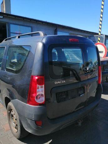 Drzwi tył tylne lewe skrzydło Dacia Logan I lakier TEKNA