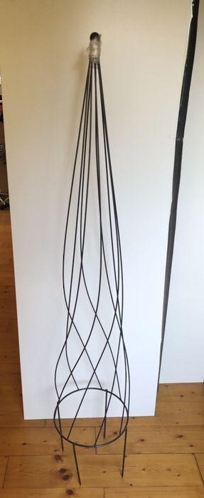 Choinka metalowa stelaż ogrodowa lub balkonowa 130 cm do lampek Wrocław - image 1