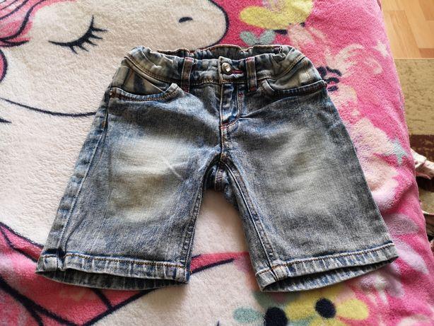 Spodenki jeansowe r 128 YFK
