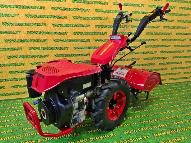 Motocultivador Novo 10 Cv Diesel + Fresa - Motor Arranque - PROMOÇÃO