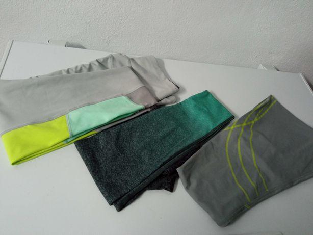 Estas 3 leggings XS e M conferem-lhe muito conforto e plena mobilidade