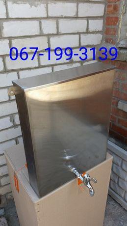 Умывальник, рукомойник дачный из нержавейки (0.8мм) сварной 12, 15, 20