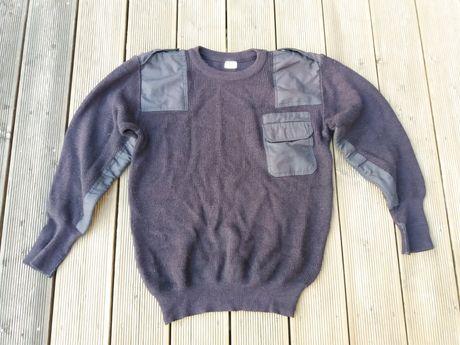 Sweter demobil bundes ochrona wełna granatowy rozm. L (52)