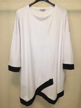 Biała tunika/bluzka, 3XL