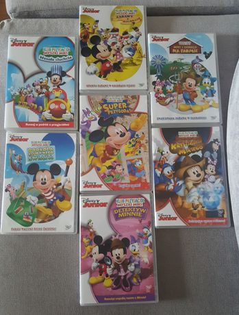 DVD Disney Junior x 7 płyt