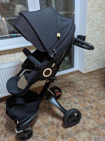Продам коляску Stokke Xplore v4 trueblack 2в1+летний и зимний комплект