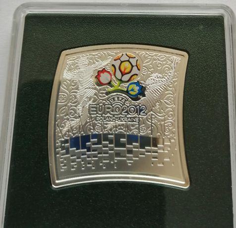 20 złotych piłka nożna euro 2012