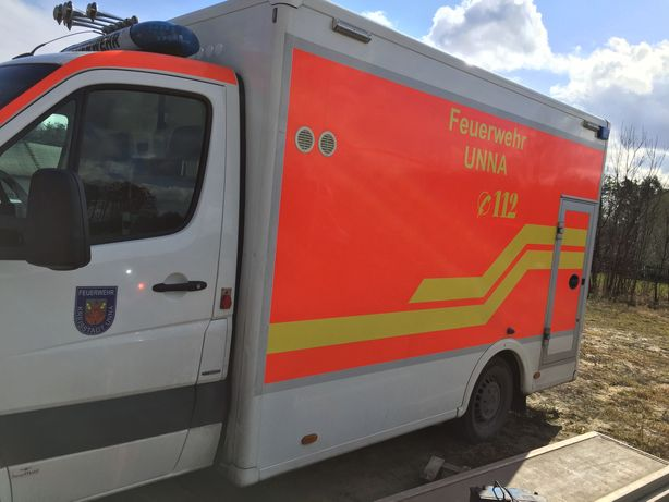 Kontener Izoterma Karetka Ambulans Kamper Sprinter 906 Chłodnia