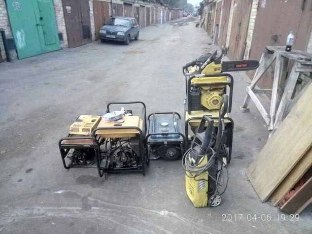 Ремонт бензо-инструмента. Мотокосы, триммеры, бензо- генераторы и т.д.