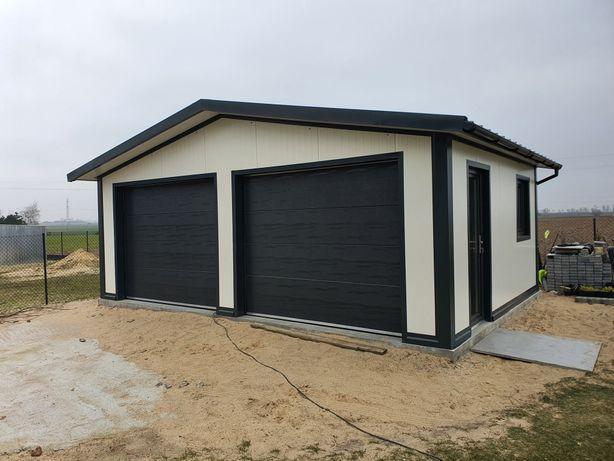Garaż ocieplany ,z płyty, do 35 m2 bez pozwolenia, Hale, wiaty.
