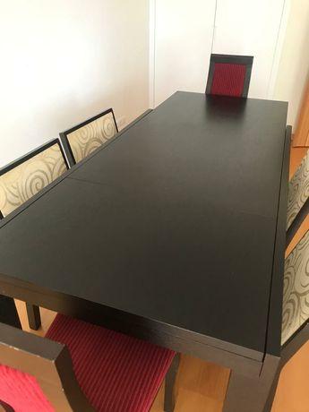 Mesa jantar 160x90 extensível 215x90