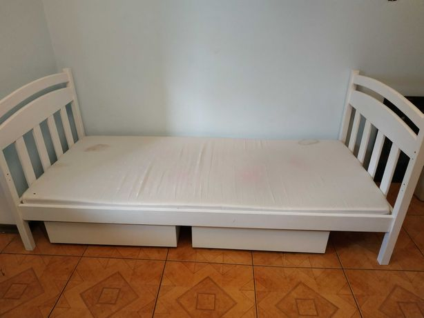 Łóżko 90cmx200 białe