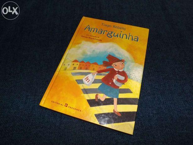 """Livro: """"Amarguinha"""" de Tiago Rebelo"""