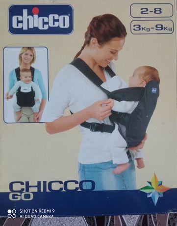 Рюкзак переноска рюкзак кенгуру Чико Chicco Go