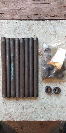 Комплект кожух штанги клапанов на Т-40 с новыми направляющими втулками