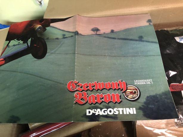 Czerwony Baron Model samolotu De Agostini