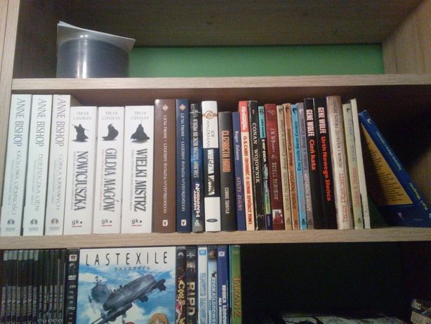 Książki - fantastyka, fantasy, SF. Różne.