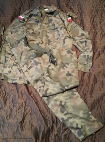 mundur wojskowy stary model, całoroczny, lato 104/172/100, ripstop
