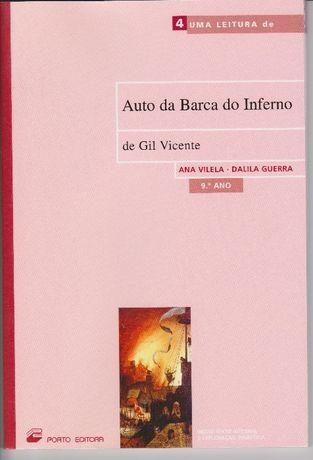 Auto da Barca do Inferno e Auto da Índia de Gil Vicente - 9.º Ano