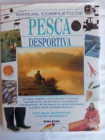 Manual Completo de Pesca Desportiva (como novo)