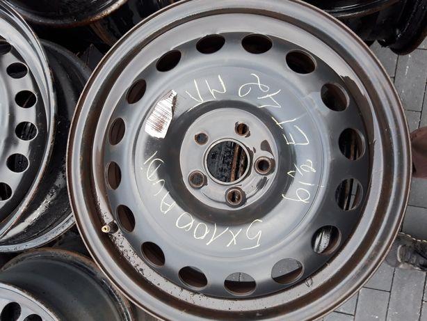 Felgi stalowe Stalówki R16 5x100 otwór 57. VW Golf IV Seat SKODA AUDI