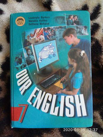 7 клас английский