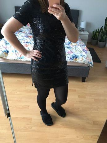 Sukienka cekinowa r. 36