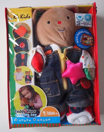 K's Kids - Zabawka edukacyjna – Miś uczy ubierania się