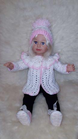 Огромная кукла пупс реборн 65 см Салли Zapf Creation и одежда на куклу