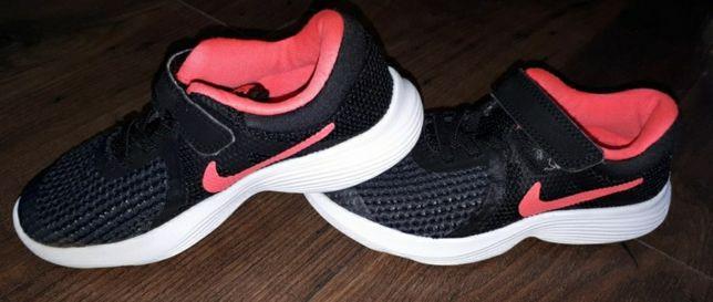 Buty sportowe Nike Revolution 4 czarno - różowe
